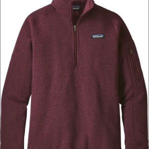 Patagonia Better Sweater in Burgundy